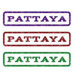Pattaya watermark stamp vector