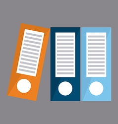 Binders design vector