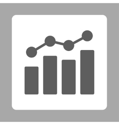 Analytics icon vector