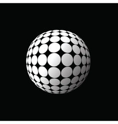 White ball vector