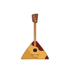 Balalaika icon in cartoon style vector