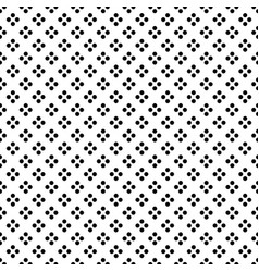 black dot in diamond shape on white background vector image vector image