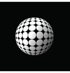White ball vector