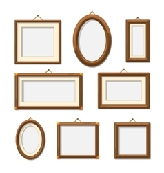 Picture photo frames vector
