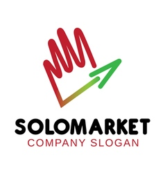 Solomarket design vector