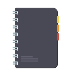 Planners notebook vector image