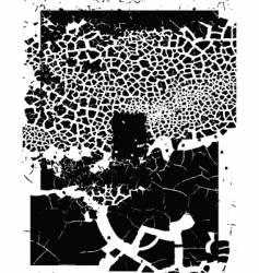 doorway grunge vector image vector image