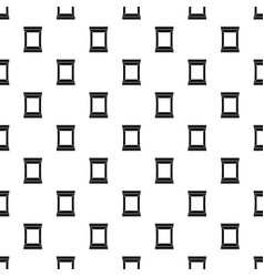 Napkins pack pattern vector