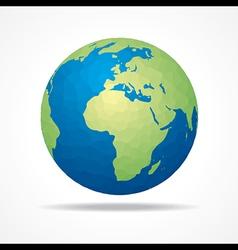 Save earth concept stock vector