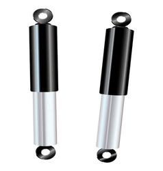 Car shock absorbers vector