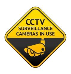 Cctv video surveillance vector