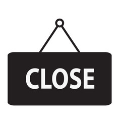 close icon close sign vector image vector image