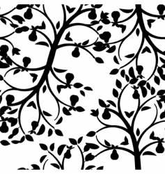 leaf wallpaper vector image vector image