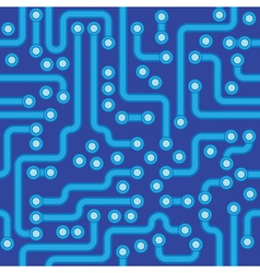 Abstract circuit board texture vector