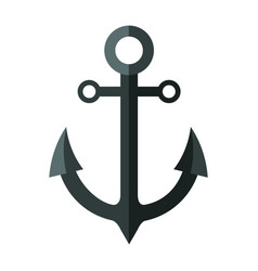 Anchor icon image vector