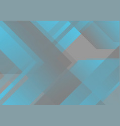 Abstract grey and blue tech geometric background vector