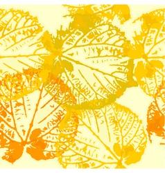 autumn leaf grunge vector image