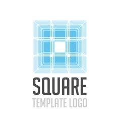 Template logo square vector