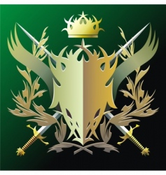 blazon vector image