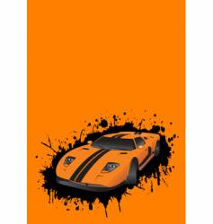 Fantastic car vector
