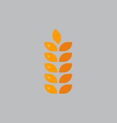 rye spike icon oktoberfest festival concept vector image