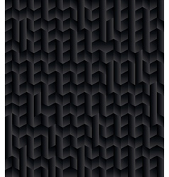 Black 3d texture abstract background vector