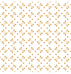 Seamless pattern with lines and dots vector