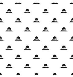 The sac mountain of fuji japan pattern vector