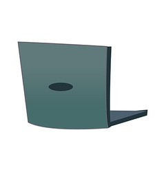 A laptop vector image