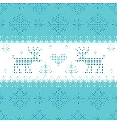 Christmas scandinavian card - for invitation vector