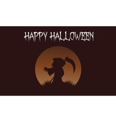 Happy halloween warlock backgrounds vector