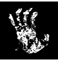 Hand terrible vector