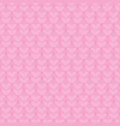 heart pattern seamless romantic background vector image