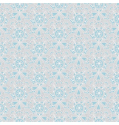 Seamless gray-blue vintage pastel pattern vector image