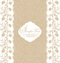 Romantic vintage background vector