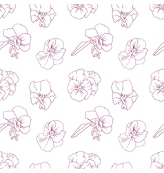 Elegant floral wallpaper vector