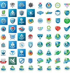 Large set of logos security guarantees and vector