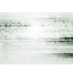 Light green grunge tech background vector image