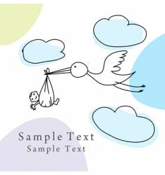 sketch greeting card vector image