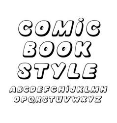 Dynamic decorative font vector