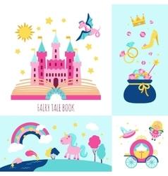 Fairy tale concept vector