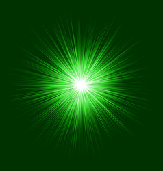 Green abstract explosion graphic background vector