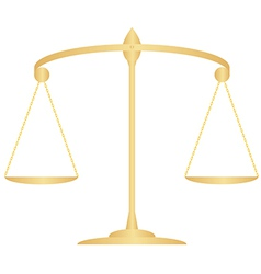 scales of Justice3 1 v vector image vector image
