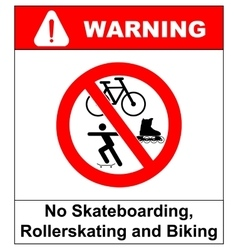 No roller blade scooter roller skater or vector
