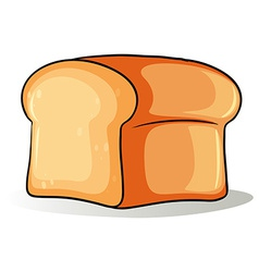 Big loaf of bread vector