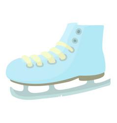 Ice skate icon cartoon style vector