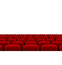 Theater seats vector