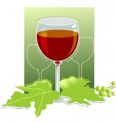 wine festival vector image