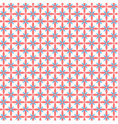 Flat seamless texture with flowers vector