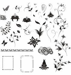 design details vector image vector image